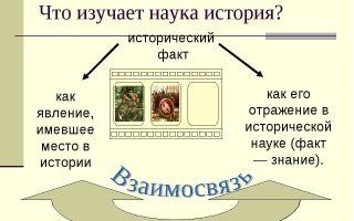 Что изучает историческая наука?
