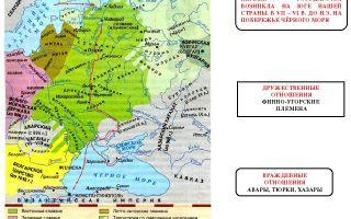 Финно-угорские и летто-литовские племена в 1 тысячелетии до н. э.