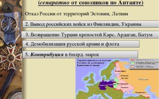 Стодневное наступление стран антанты – 1918 год