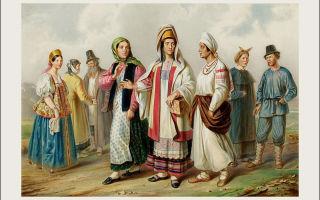 Народы россии в первой половине 19 века