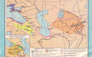 Племена средней азии, закавказья и кавказа в 4 тысячелетии до н. э.