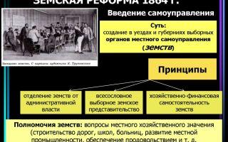 Продолжение политики реформ. земское и городское самоуправление, судебная, военная и другие реформы