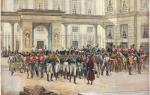 Волнения в армии при александре i