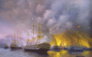 Наваринская битва 1827 г.