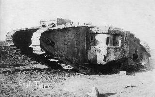 Оружие первой мировой: бронетехника и авиация