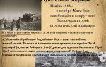 Киевская наступательная операция 1943 г. (3 — 12 ноября)