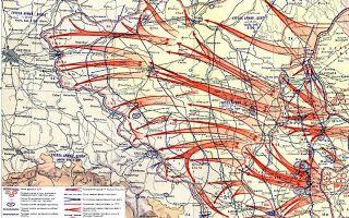 Наступление советский войск. освобождение польши