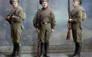 Истории российских военнослужащих эпохи первой мировой войны
