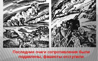 Подавление последних очагов сопротивления. победа красной армии