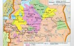 Карта: районы, отведённые иваном грозным под опричнину