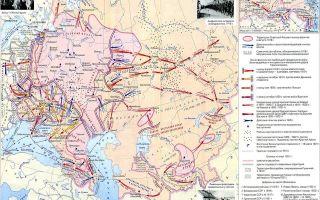 Гражданская война: военные действия 1917-середины 1918 годов