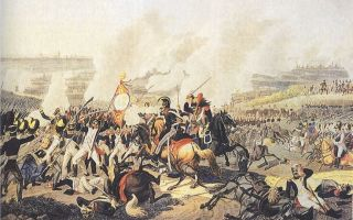 Лейпцигское сражение. французская кампания. взятие парижа