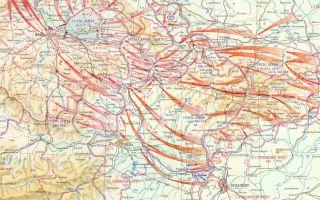 Боевые действия красной армии в чехословакии