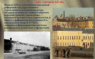 Руководители основных министерств в xix — начале xx века