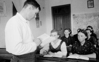 Культурная жизнь в середине 40-х — начале 60-х годах