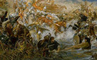 Битва на воже – рубикон для князя дмитрия донского