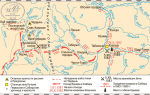 Карта: сибирская экспедиция ермака