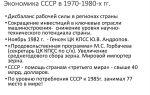 Ссср в 1970 – 1980-е гг.