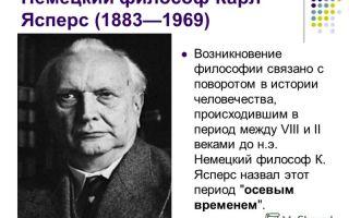 Философия истории ясперса