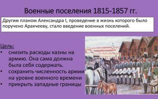 Военные поселения при александре i