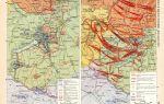 Отражение контрнаступления немецко-фашистских войск в районе озера балатон