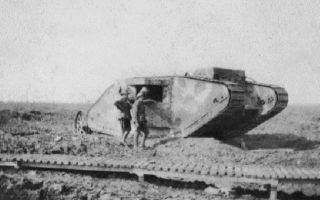 Битва на реке сомма – в бой идут танки