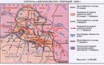 Наступление советских войск в январе – феврале. окружение врага в районе корсунь-шевченского