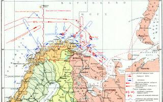 Боевые действия северного флота