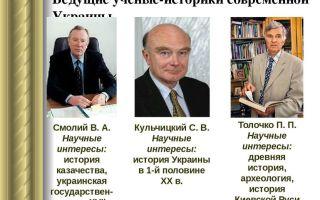 Современная украинская историография
