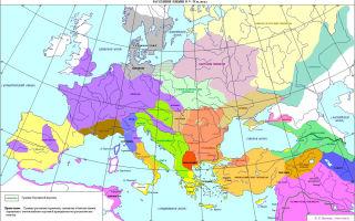 Племена лесной полосы европейской части россии во 2 тысячелетии до н. э.