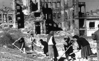 Послевоенный период отечественной войны