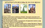 Культура московской руси xiv – xvii века