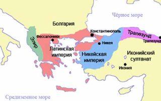 Византия и крестоносцы. комнины и ангелы. латинские государства и греческая никейская империя