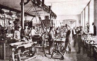 Промышленный переворот в россии в конце xix — начале xx веках
