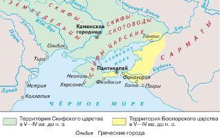 Античные государства северного причерноморья в 1 в. до н. э. — 4 в. н. э.