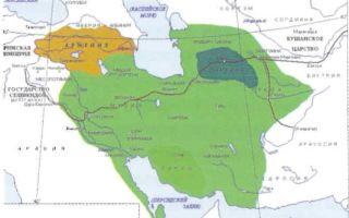 Политическая история парфянского царства
