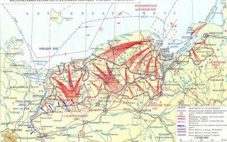 Разгром немецко-фашистских войск в восточной померании и силезии