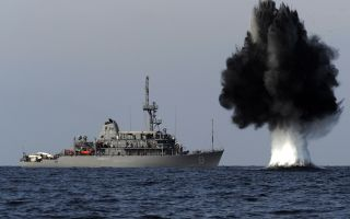 Ликвидация минной опасности на морских театрах