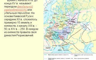 Государство русь (ix — начало xii в.)