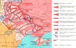 Положение на правобережной украине и в крыму к началу 1944 г.