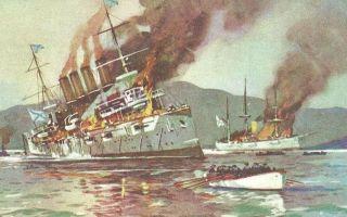 Бой в бухте чемульпо и гибель крейсера «варяг»