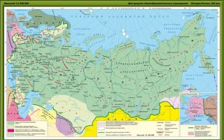 Карта: российская империя в xix веке