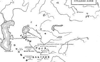 Племена кавказа и средней азии в конце 3 и во 2 тысячелетии до н.э.