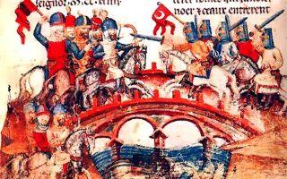 Сражение на реке шайо: 10-12 апреля 1241 год.