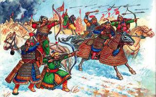 Борьба русского народа с татаро-монгольским нашествием