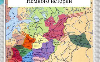 Русь в период феодальной раздробленности