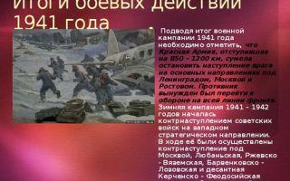 Итоги боевых действий красной армии в зимней кампании 1943/44 года