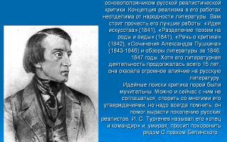 Белинский — создатель русской критики