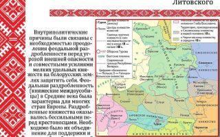 Процесс колонизации великого княжества литовского (конец xiv-xvi веков)