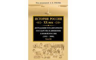 История россии xx век